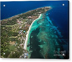 West End Roatan Honduras Acrylic Print
