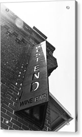Acrylic Print featuring the photograph West End by Wade Brooks