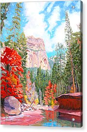 West Fork - Sedona Acrylic Print
