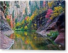 West Fork Serenity Acrylic Print