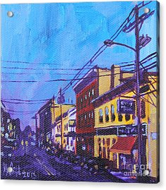 West Front Street Acrylic Print by Michael Ciccotello