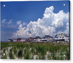 Acrylic Print featuring the digital art West Hampton by Steven Spak