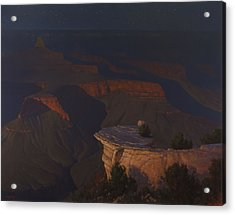 West Moon Grand Canyon Acrylic Print