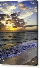 West Oahu Sunset Acrylic Print