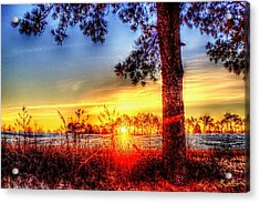 West Tennessee Sunrise Acrylic Print