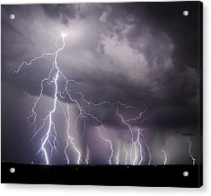 West Texas Light Show Acrylic Print