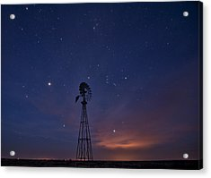 West Texas Sky Acrylic Print