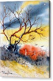 West Texas Sunrise Acrylic Print