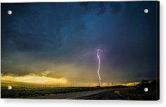 West Texas Thunderstorm Acrylic Print