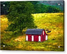 West Virginia Painted Acrylic Print by Steve Harrington