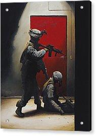 West Vs. East Acrylic Print by Joshua Donaldson