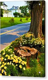 Acrylic Print featuring the photograph Westchester Avenue by Dana Sohr