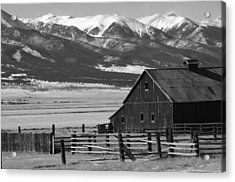 Westcliffe Colorado Acrylic Print by Jerry Mann