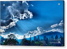 Westerly Clouds Acrylic Print