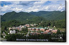 Western Carolina University Summer Acrylic Print