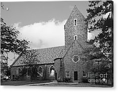 Western College For Women Chapel Acrylic Print by University Icons