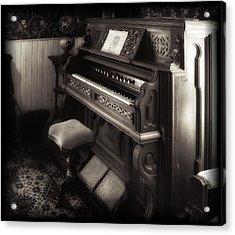 Western Cottage Pump Organ Acrylic Print
