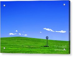 Western Hill  Acrylic Print by Olivier Le Queinec