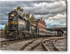 Western Maryland Scenic Railroad Acrylic Print by Jeannette Hunt