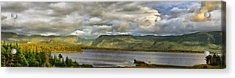 Western Newfoundland Panorma Acrylic Print by Steve Hurt