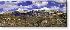 Western Sky Panorama Acrylic Print