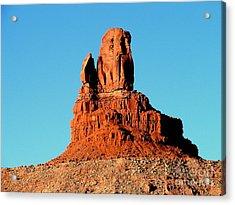Western Usa Rock Acrylic Print by John Potts