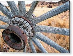 Western Ways Acrylic Print by Darryl Wilkinson
