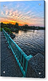 Westhampton-quogue Bridge Acrylic Print