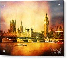 Westminster 2 Acrylic Print by Heidi Hermes