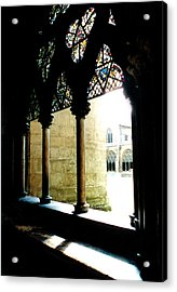 Westminster Abbey Courtyard Acrylic Print