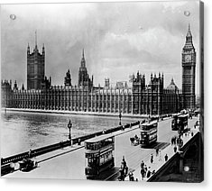 Westminster Bridge And Parliament Acrylic Print