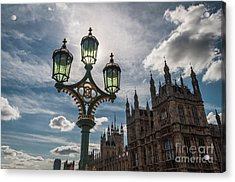 Acrylic Print featuring the photograph Westminster by Matt Malloy