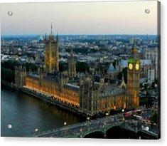 Westminster Palace Da 01 Acrylic Print