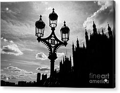 Acrylic Print featuring the photograph Westminster Silhouette by Matt Malloy