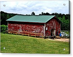 Westminster Stable Acrylic Print by Tara Potts