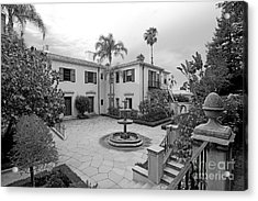 Westmont College Courtyard Acrylic Print by University Icons