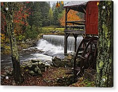 Weston Grist Mill Acrylic Print