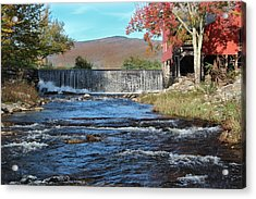 Weston Mill And River Acrylic Print