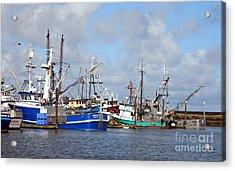 Westport Fishing Boats 2 Acrylic Print