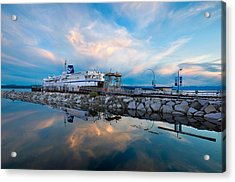 Westview Blue Hour Acrylic Print