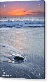 Wet Acrylic Print by Cristo Bolanos