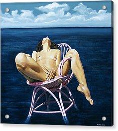 Wet Dream Acrylic Print by Jo King