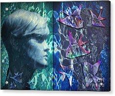 Wet Fantasies Acrylic Print