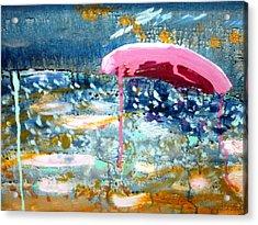 Wet Sun Acrylic Print