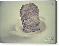 Wet Tea Bag Acrylic Print