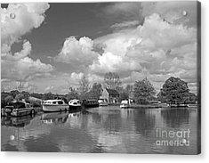 Wey Canal Ripley Surrey Acrylic Print
