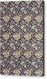 Wey Design Acrylic Print by William Morris
