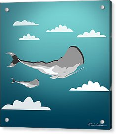 Whale 7 Acrylic Print