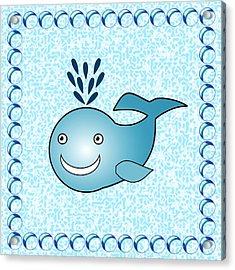 Whale - Animals - Art For Kids Acrylic Print