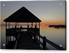 Acrylic Print featuring the photograph Whalehead Sunset Obx by Greg Reed